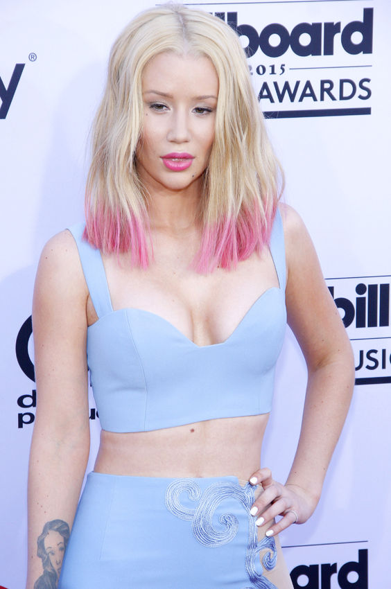 50975848 - iggy azalea at the 2015 billboard music awards held at the mgm garden arena in las vegas, usa on may 17, 2015.