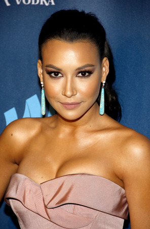 51492279 - naya rivera at the 24th annual glaad media awards held at the jw marriott hotel in los angeles, united states, 200413.